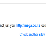 DotCom's new Website MEGA get DDosed!