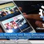 TESDA launches Android app Download and be updated of their Programs and Services