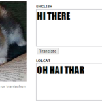 Oh hai thar, Twitter has LolCat language available now