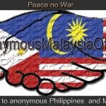Brief summary: Filipino-Malaysian Cyber War
