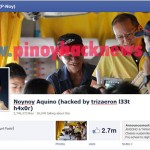 Official Facebook account and page of president Pnoy hacked!