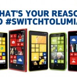 Win a Nokia Lumia of your choice with #SwitchtoLumia promo
