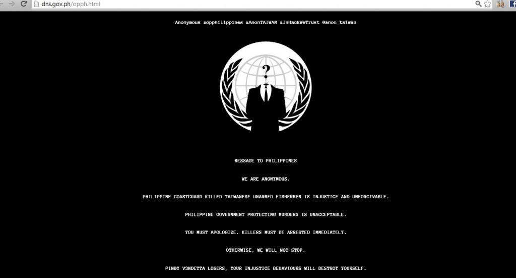 anon taiwan deface page