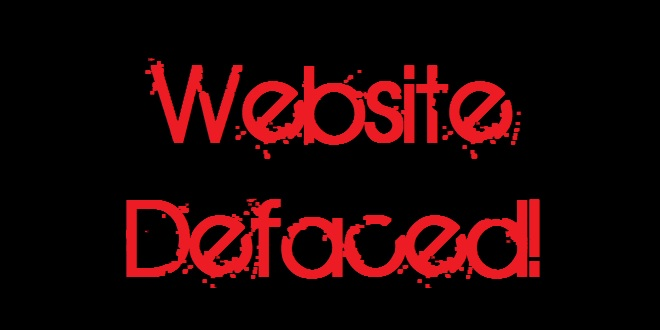 website defaced