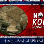 Anonymous schedules an attack against North Korea