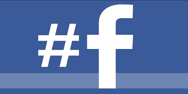 facebook hashtag enabled in mobile