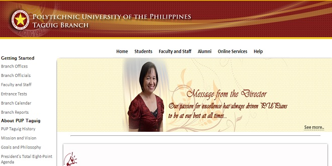polytechnic university of the philippines tagugig branch