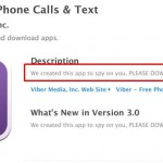 "Apple app store account of ""Viber"" appears to be hacked"