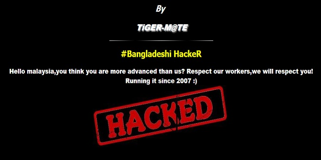 Official domain of Microsoft in Malaysia hacked