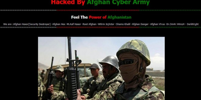 Pakistani Newspaper Daily Post International website hacked