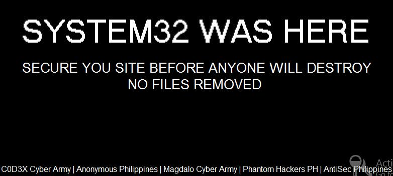 System32 was here.