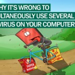 Expert says: Running 2 anti virus at the same time is a bad idea