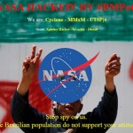 """NASA website sub domains defaced, """"we do not want war, we want peace"""""""