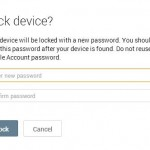 Secure your android device, lock it remotely when lost or stolen