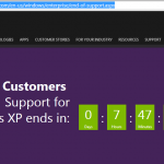 Microsoft to end support of XP