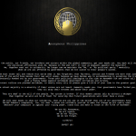 PH Gov't websites, attacked by Anonymous Philippines for Million Mask March 2014